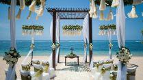 Beach Wedding Setup