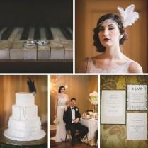 Glamorous Art Deco Wedding Inspiration Chic Vintage Brides