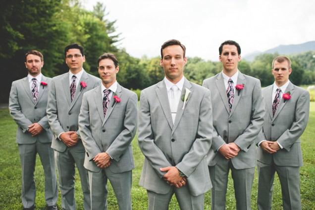 Gray Suits Wedding