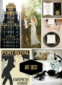 Inspiration From Anywhere… Art Deco Wedding