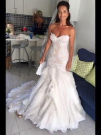 J'aton Wedding Dress On Sale 36 Off