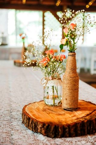 Marvelous Homemade Wedding Table Centerpieces 33 In Wedding Table