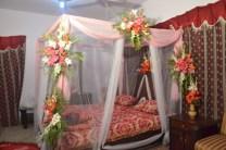 Pakistani Wedding Room Decoration