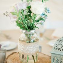 Rustic centerpieces for weddings junglespirit Choice Image