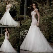 Sexy Backless Mermaid Wedding Dress Naf Dresses