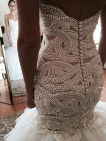 1000 Ideas About Pearl Custom Pearl Wedding Gowns