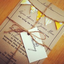 15 Beautiful Shabby Chic Wedding Invitations