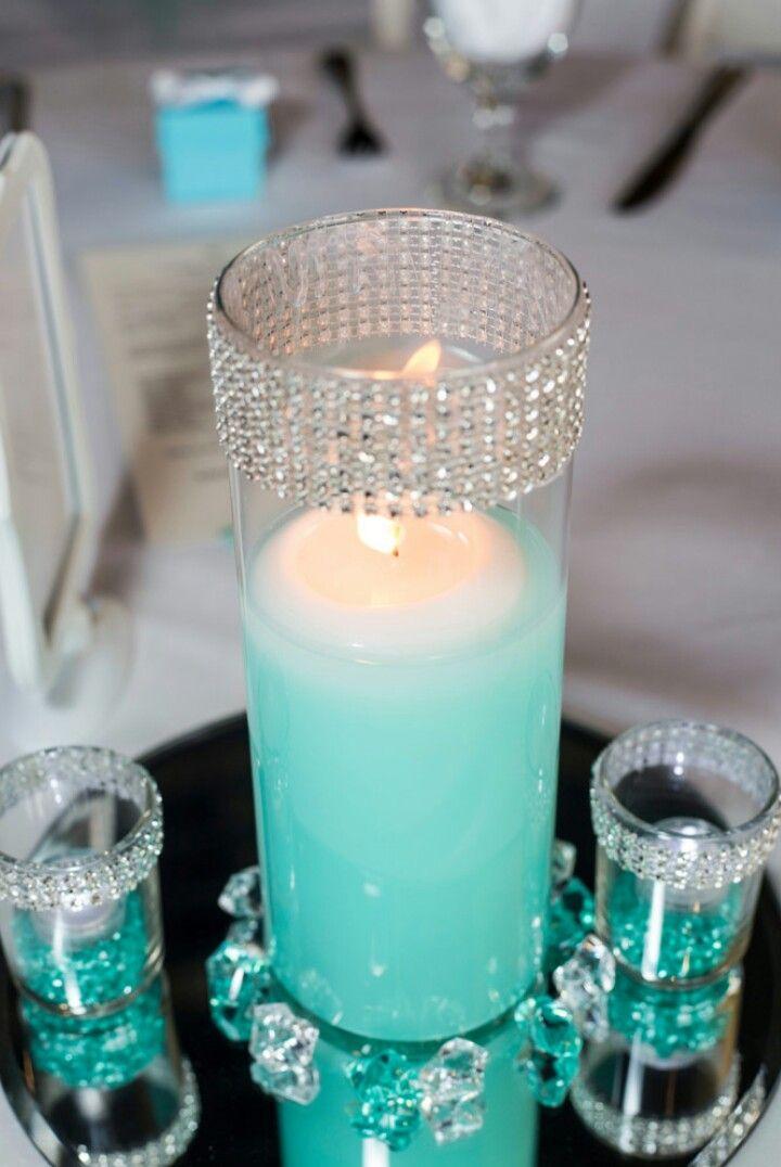 Imgenes De Tiffany Blue Wedding Centerpieces