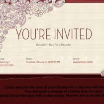 1st Anniversary Invitation Templates 1st Wedding Anniversary