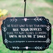 24 Clever & Funny Wedding Signs For Your Reception