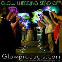 28 Glow Stick Wedding Send Off Significant Events Of Texas Wedding