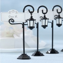 30pcs Lot Bourbon Street Streetlight Place Card Holder Wedding