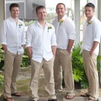 46 Cool Beach Wedding Groom Attire Ideas