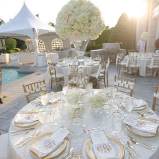 86 Best White, Gold, Silver Weddings Images On Emasscraft Org