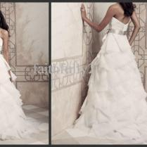 Amazing Gowns With Ruffles Images