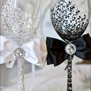 Astonishing Wine Glass Decorations For Weddings 59 With Additional