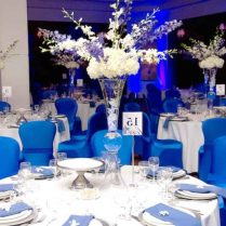 Astounding Blue Table Decorations For Wedding 69 For Your Home
