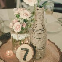 Awesome Diy Country Wedding Centerpieces 1000 Ideas About Rustic