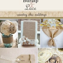 Awesome Wedding Ideas Using Burlap Using Burlap To Decorate For