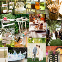 Backyard Bbq Wedding Reception 8352