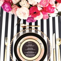Beautiful Black White Pink Wedding Gallery
