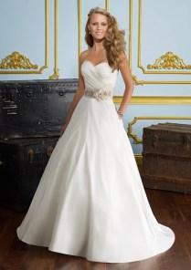 Beautiful Luxe Taffeta Wedding Dress