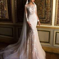 Beautiful Sequin Wedding Gowns Images