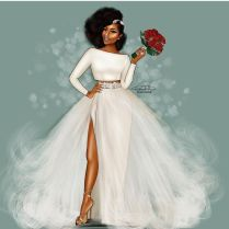 Beautiful Wedding Dresses For Black Women Contemporary