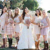 Beautiful Western Theme Wedding Dresses Gallery