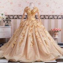 Best 25 Gold Wedding Gowns Ideas On Emasscraft Org