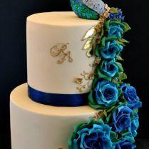 Best 25 Peacock Cake Ideas On Emasscraft Org