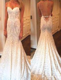 Best 25 Spaghetti Strap Wedding Dress Ideas On Emasscraft Org