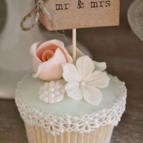 Best 25 Wedding Cupcake Toppers Ideas On Emasscraft Org Bridal Wedding