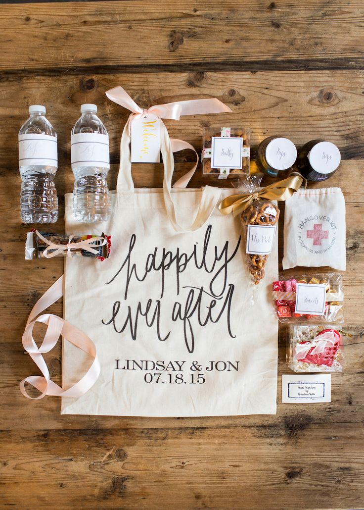 Wedding Hotel Welcome Bags