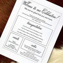 Best 25 Wedding Welcome Letters Ideas On Emasscraft Org