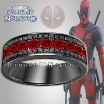 Best Deadpool Wedding Ring 8