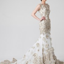 Best Gold Bridal Gowns Contemporary
