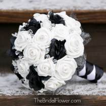Black And Silver Wedding Bouquet Download Black And White Wedding