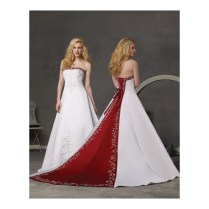 Black Red And White Bridesmaid Dresses