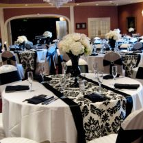 Black White And Silver Wedding Reception Ideas Best 25 Black And