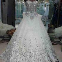 Blinged Out Wedding Dresses – Watchfreak Women Fashions