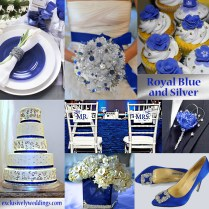 Blue Wedding Color Five Perfect Combinations Exclusively Royal