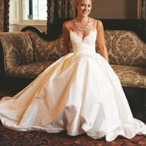 Boho Sweet Spaghetti Strap Wedding Dress