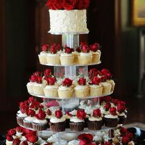 Breathtaking Decorated Cupcakes For Weddings 74 For Wedding Table