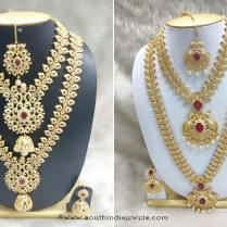 Bridal Jewelry Sets Pictures Necklace Gold And Earring Gold The