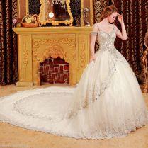 Bright Diamond Sexy Fancy Wedding Dress Vvxj · Yz Fashion Bridal