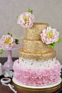 Budding Talent How To Make A Floral Cake Topper