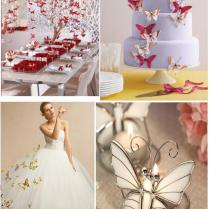 Butterfly Wedding Decoration – Weddings On The French Riviera