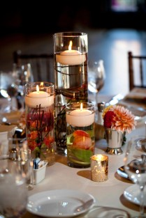 Candle Flower Centerpieces Entrancing Floating Candle Centerpieces
