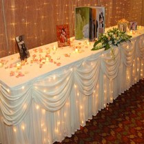 Captivating Table Cloth Decorations For Wedding 54 In Wedding